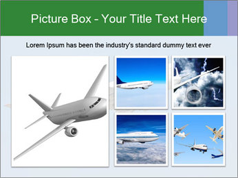 White Plane PowerPoint Template - Slide 19
