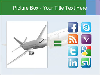 White Plane PowerPoint Template - Slide 21