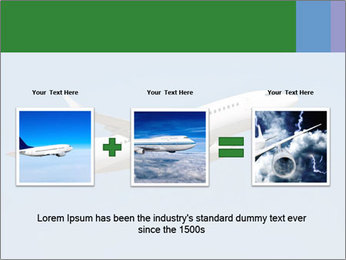 White Plane PowerPoint Template - Slide 22