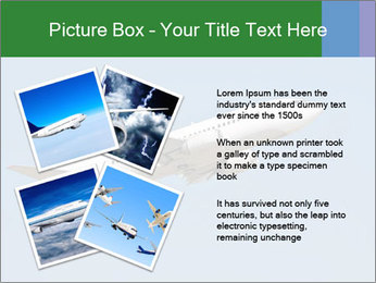 White Plane PowerPoint Template - Slide 23