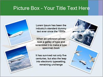 White Plane PowerPoint Templates - Slide 24