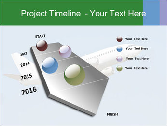 White Plane PowerPoint Template - Slide 26