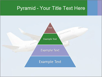 White Plane PowerPoint Template - Slide 30