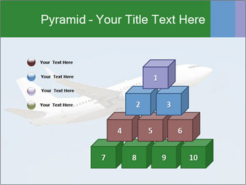 White Plane PowerPoint Template - Slide 31