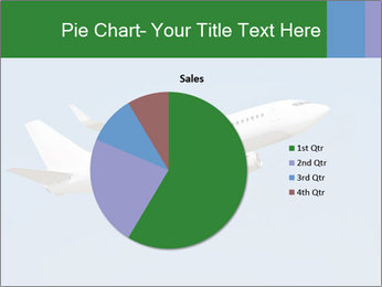 White Plane PowerPoint Template - Slide 36