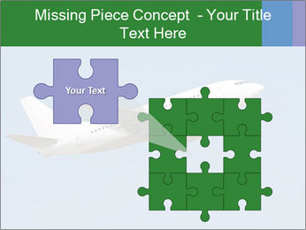 White Plane PowerPoint Templates - Slide 45