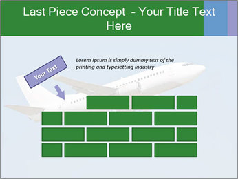 White Plane PowerPoint Templates - Slide 46