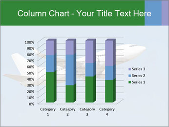 White Plane PowerPoint Template - Slide 50