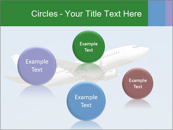White Plane PowerPoint Templates - Slide 77