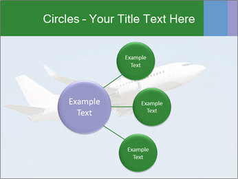 White Plane PowerPoint Template - Slide 79