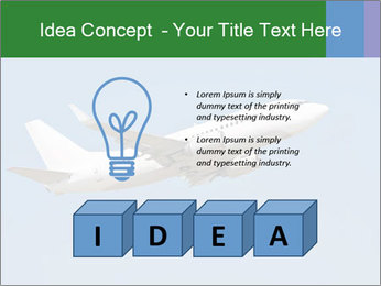 White Plane PowerPoint Templates - Slide 80