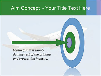 White Plane PowerPoint Template - Slide 83