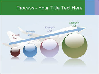 White Plane PowerPoint Template - Slide 87