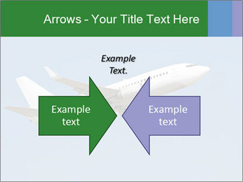 White Plane PowerPoint Template - Slide 90