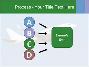 White Plane PowerPoint Template - Slide 94