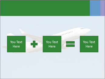 White Plane PowerPoint Template - Slide 95