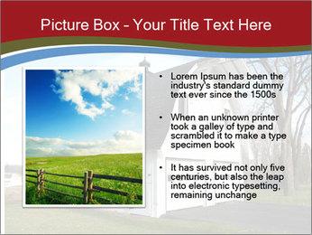 Village Barn PowerPoint Template - Slide 13