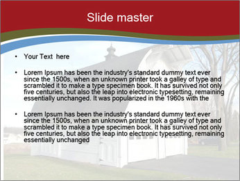 Village Barn PowerPoint Template - Slide 2