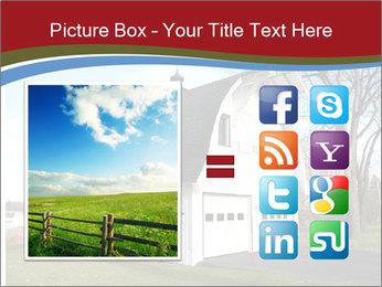 Village Barn PowerPoint Template - Slide 21