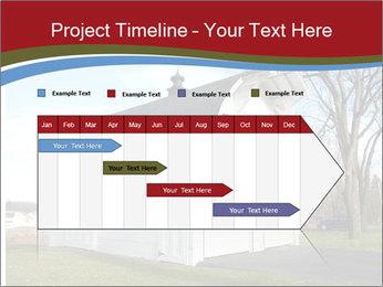 Village Barn PowerPoint Template - Slide 25