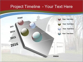 Village Barn PowerPoint Template - Slide 26