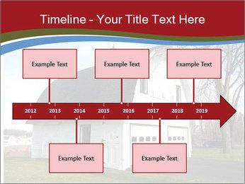 Village Barn PowerPoint Template - Slide 28