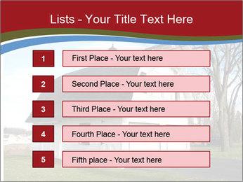 Village Barn PowerPoint Template - Slide 3