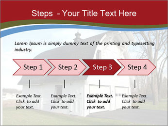 Village Barn PowerPoint Template - Slide 4