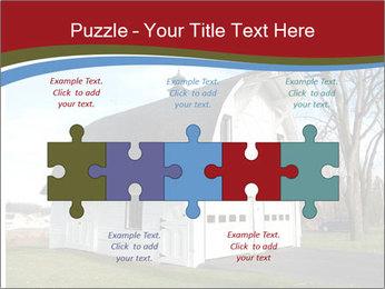 Village Barn PowerPoint Template - Slide 41