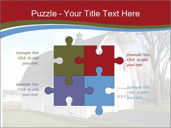 Village Barn PowerPoint Template - Slide 43