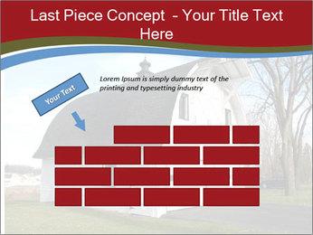 Village Barn PowerPoint Template - Slide 46