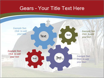 Village Barn PowerPoint Template - Slide 47