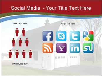 Village Barn PowerPoint Template - Slide 5