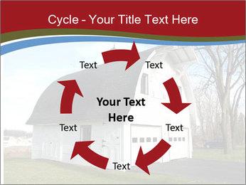 Village Barn PowerPoint Template - Slide 62