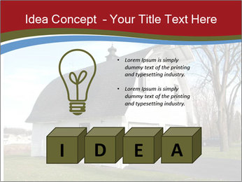 Village Barn PowerPoint Template - Slide 80
