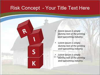 Village Barn PowerPoint Template - Slide 81
