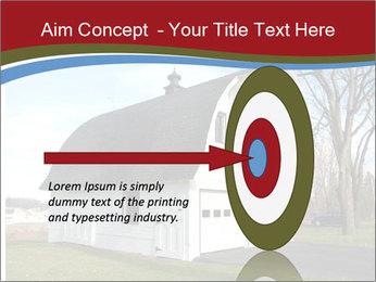 Village Barn PowerPoint Template - Slide 83