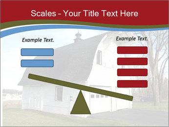 Village Barn PowerPoint Template - Slide 89