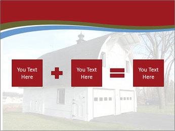 Village Barn PowerPoint Template - Slide 95