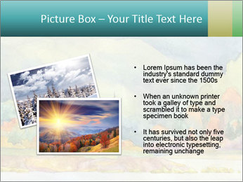 Colorful Landscape Painting PowerPoint Template - Slide 20