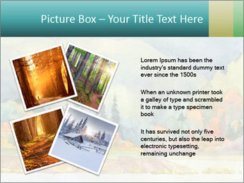 Colorful Landscape Painting PowerPoint Template - Slide 23
