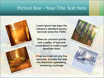 Colorful Landscape Painting PowerPoint Template - Slide 24