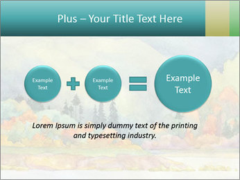 Colorful Landscape Painting PowerPoint Template - Slide 75