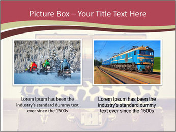 Retro Travelling Bag PowerPoint Template - Slide 18