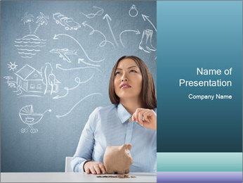 Dreamy Teacher PowerPoint Template