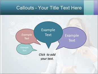 Dreamy Teacher PowerPoint Templates - Slide 73