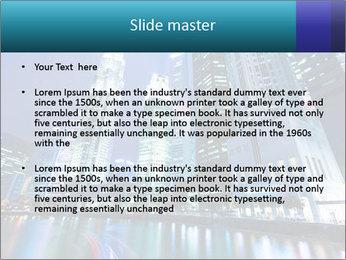 Illuminated Singapore PowerPoint Template - Slide 2