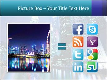Illuminated Singapore PowerPoint Template - Slide 21