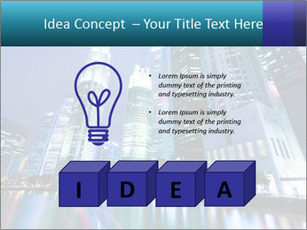 Illuminated Singapore PowerPoint Template - Slide 80