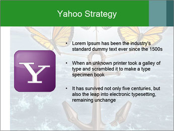 Butterflies And Anchor PowerPoint Templates - Slide 11